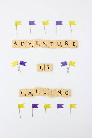spelled: Adventure is calling visual