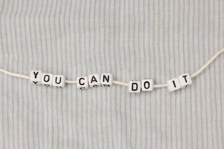 you can: Puedes hacerlo