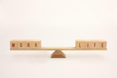 quality work: Work life balance Stock Photo