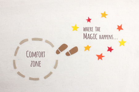 happens: Comfort zone vs where the magic happens