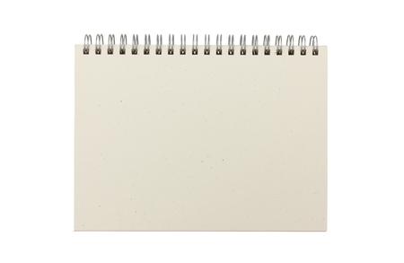 Blank open sketchbook Stock Photo
