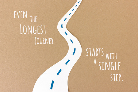 longest: Even the longest journey starts with a single step - motivational quote