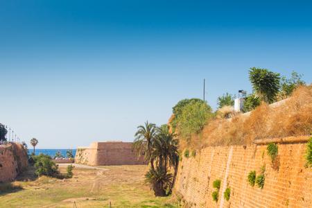 kreta: Ruins of Katholiko monastery in Chania region on Crete island, Greece.