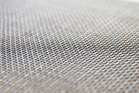 Black, gold and silver color wicker texture background