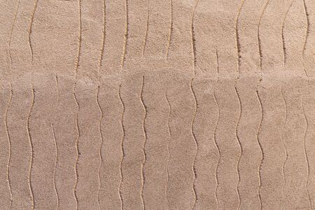 soft beige porous background with extruded wavy lines Stok Fotoğraf