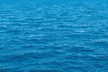 Abstract blue water sea for background or texture.
