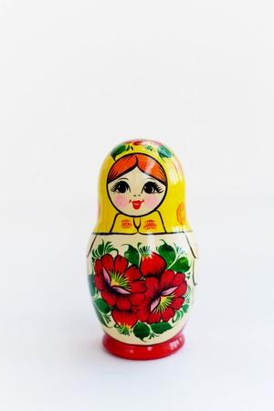 nested: Matryoshka - Russian Nested Doll Stock Photo