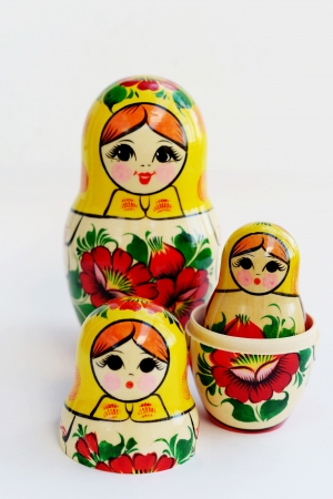 russian nesting dolls: Matryoshka - Russian Nested Dolls