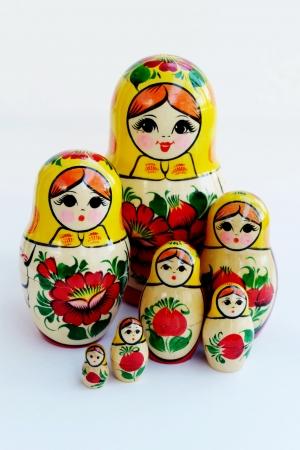 russian nested dolls: Matryoshka - Russian Nested Dolls