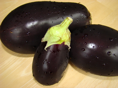 healers: Eggplants Stock Photo