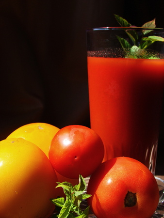 healers: Tomato juice