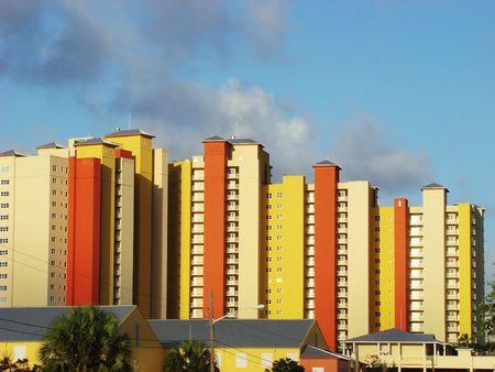 Colorful southern architecture Reklamní fotografie