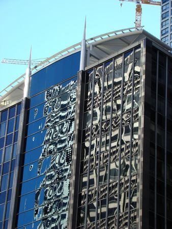 urban centers: Modern building