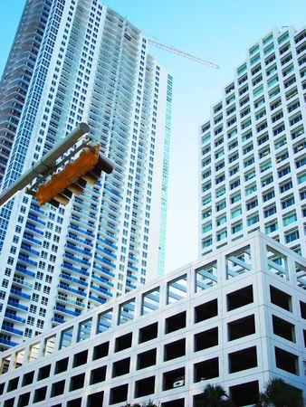 urban centers: Beautiful buildings Stock Photo
