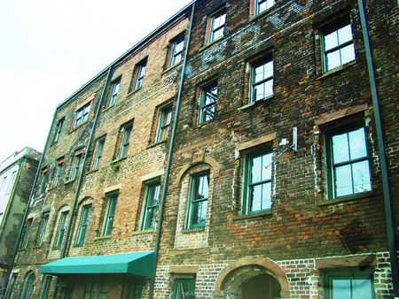 urban centers: Old buildings
