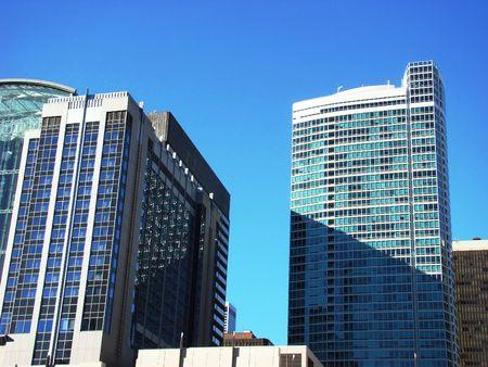 urban centers: City buildings