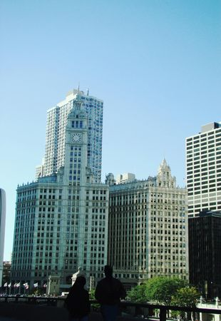 City buildings photo