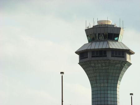 Control Tower Stockfoto