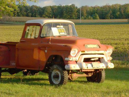 Old American trucks Stock Photo - 1831325
