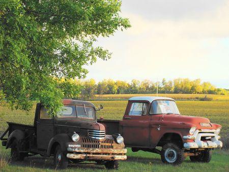 Old American trucks Stock Photo - 1831323
