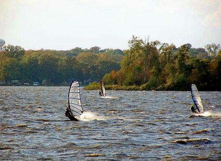 Windsurfers photo