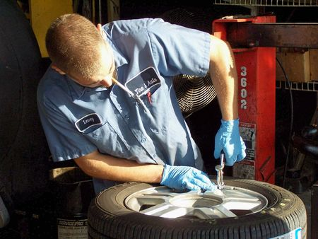 tire: Fixing the tire
