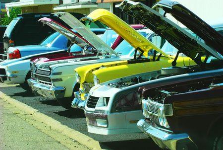 restored: Restored vintage cars