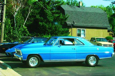 restored: Restored vintage car