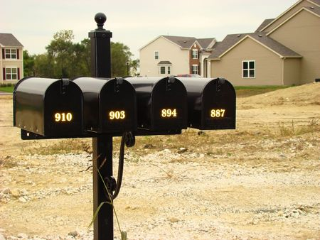 envelops: Mail boxes
