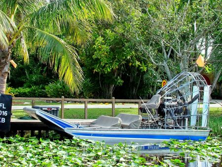 Everglades gondola