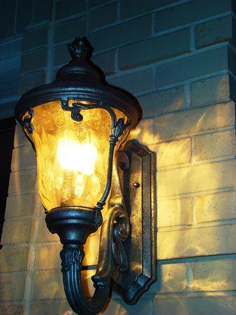 wall sconce: Wall lantern