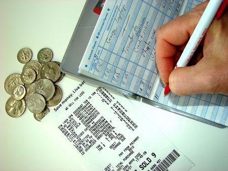 Spending and money Stock Photo
