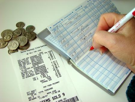 checks: Balancing the money