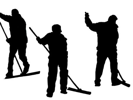 cleaning team: Trabajo hombres