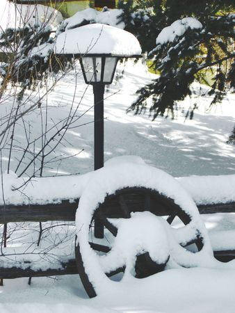 Winter scenery photo