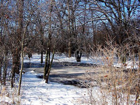 Ice landscape Stock Photo - 2236465