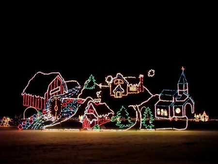 Chrismas lights Stock Photo - 2273024