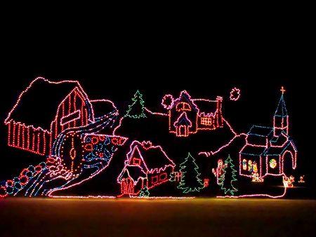 Christmas lights  Stock Photo - 2290684