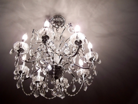 Crystal chandelier Stock Photo - 3064043
