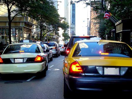 Taxi cabs photo