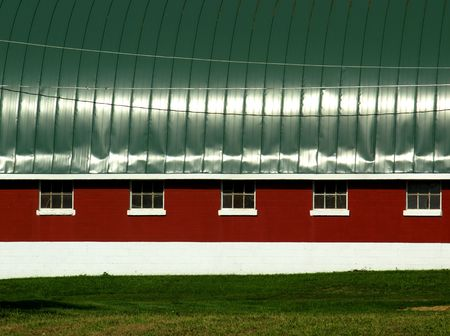 free stock: Free stock image of a red farm in Wisconsin