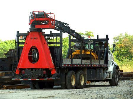 Stock Foto von einem LKW auf einer Baustelle Standard-Bild - 4301576