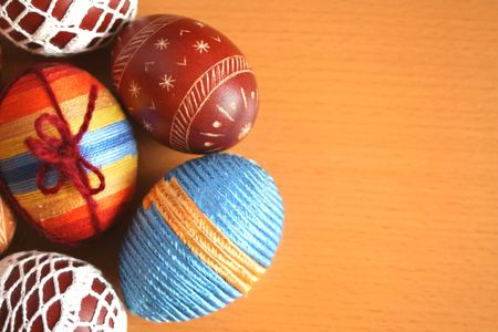 crotchet: Collection of Easter eggs