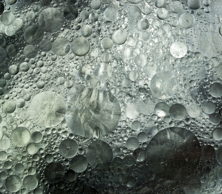 Abstract background of grey silver transparent circles  photo