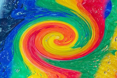 Multi coloured swirl effect as abstract background Stock Photo - 13004926