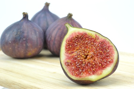 Figs fruit with selective focus photo