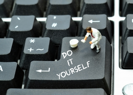 do it: Do it yourself on keyboard return enter key butto