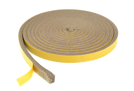exclusion: A roll of self adhesive draft exclusion insulation foam band