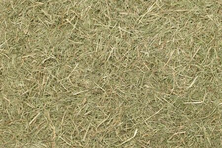 A country farming themed wallpaper background of dried straw grass hay with copy space for your text or picture Banco de Imagens