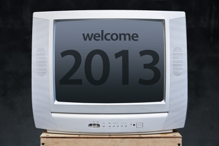welcome new year 2013 in television